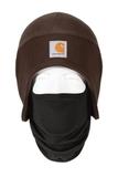 Carhartt Fleece 2-In-1 Headwear Dark Brown Thumbnail