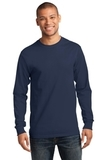 Essential Long Sleeve T-shirt Navy Thumbnail