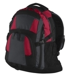 Urban Backpack Red with Magnet and Black Thumbnail