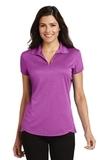 Women's Trace Heather Polo Shirt Berry Heather Thumbnail