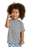 Toddler 5.4-oz 100 Cotton T-shirt Athletic Heather Thumbnail