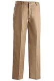 Men's Flat Front Pant Tan Thumbnail