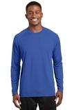 Dry Zone Long Sleeve Raglan T-shirt True Royal Thumbnail