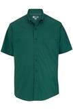 Men's Easy Care Poplin Shirt SS Hunter Thumbnail