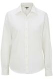 Women's Long Sleeve Service Shirt White Thumbnail