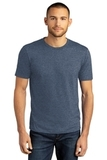 District Perfect Tri DTG Tee Navy Frost Thumbnail