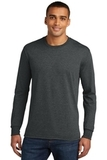 Made Men's Perfect Tri Long Sleeve Crew Tee Black Frost Thumbnail