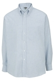 Men's Dress Button Down Oxford LS Blue Stripe Thumbnail
