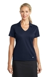Women's Nike Golf Dri-FIT Vertical Mesh Polo Marine Thumbnail
