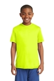 Youth Competitor Tee Neon Yellow Thumbnail