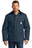 Carhartt Duck Traditional Coat Dark Navy Thumbnail