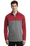 Nike Golf Therma-FIT 1/2-Zip Fleece Gym Red with Dark Grey Heather Thumbnail