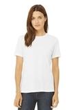 BELLACANVAS Women's Relaxed Jersey Short Sleeve Tee White Thumbnail