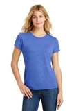 Women's Made Perfect Tri Crew Tee Royal Frost Thumbnail