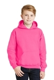 Hooded Sweatshirt Safety Pink Thumbnail