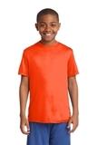 Youth Competitor Tee Neon Orange Thumbnail