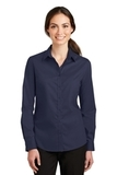 Women's SuperPro Twill Shirt True Navy Thumbnail
