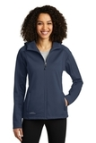 Women's Eddie Bauer Trail Soft Shell Jacket River Blue Navy with River Blue Navy Thumbnail