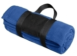 Fleece Blanket With Carrying Strap True Royal Thumbnail