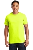 Ultra Cotton 100 Cotton T-shirt Safety Green Thumbnail