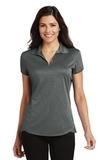 Women's Trace Heather Polo Shirt Charcoal Heather Thumbnail