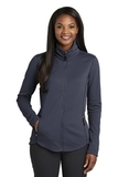 Women's Collective Smooth Fleece Jacket River Blue Navy Thumbnail
