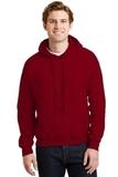 Heavyblend Hooded Sweatshirt Antique Cherry Red Thumbnail