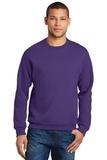 Crewneck Sweatshirt Deep Purple Thumbnail