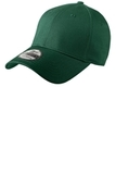 New Era Structured Fitted Cotton Cap Dark Green Thumbnail