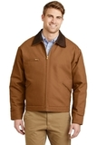 Duck Cloth Work Jacket Duck Brown Thumbnail