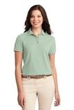 Women's Silk Touch Polo Shirt Mint Green Thumbnail