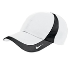 Nike Golf Technical Colorblock Cap White with Black Thumbnail