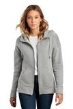 Women's Perfect Weight Fleece Drop Shoulder Full-Zip Hoodie Heathered Steel Thumbnail
