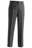 Men's Poly / Wool Flat Front Pant Dark Grey Thumbnail