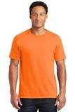 50/50 Cotton / Poly T-shirt Safety Orange Thumbnail