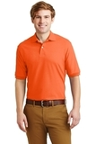 Spotshield 5.6-ounce Jersey Knit Polo Shirt Safety Orange Thumbnail