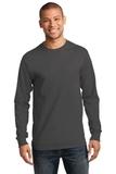 Essential Long Sleeve T-shirt Charcoal Thumbnail