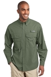 Eddie Bauer Long Sleeve Fishing Shirt Seagrass Green Thumbnail
