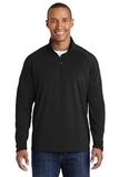 Tall Sport-wick Stretch 1/2-zip Pullover Black Thumbnail