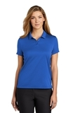 Women's Nike Golf Dry Essential Solid Polo Game Royal Thumbnail