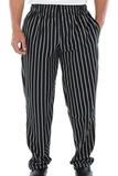 Basic Baggy Chef Pant Black Stripe Thumbnail