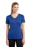 Women's V-neck Competitor Tee True Royal Thumbnail