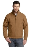 Washed Duck Cloth Flannel-lined Work Jacket Duck Brown Thumbnail