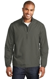 Zephyr 1/2-Zip Pullover Grey Steel Thumbnail