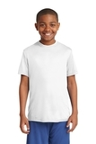 Youth Competitor Tee White Thumbnail