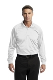 Long Sleeve Snag-Proof Tactical Performance Polo White Thumbnail