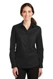 Women's SuperPro Twill Shirt Black Thumbnail