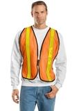 Mesh Safety Vest Safety Orange Thumbnail
