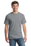 Heavy Cotton 100 Cotton T-shirt Gravel Thumbnail