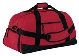 Port Company Improved Basic Large Duffel Red Thumbnail